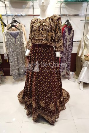 Pakistani Brdial Maxi dress